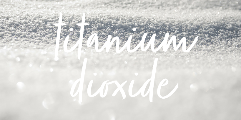 Titanium Dioxide, Harmful to Skin?