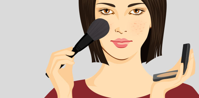 Using Make-Up with Acne, Is That Ok?